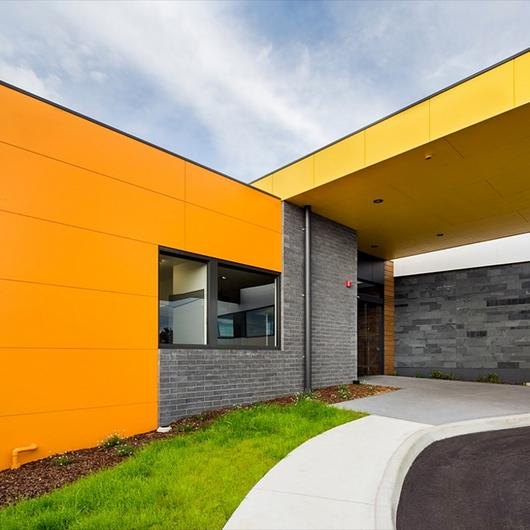 ExoTec Facade in Millhaven Lodge