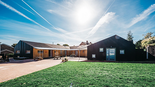 Lunawood Thermowood | Eaton Socon Pre-School