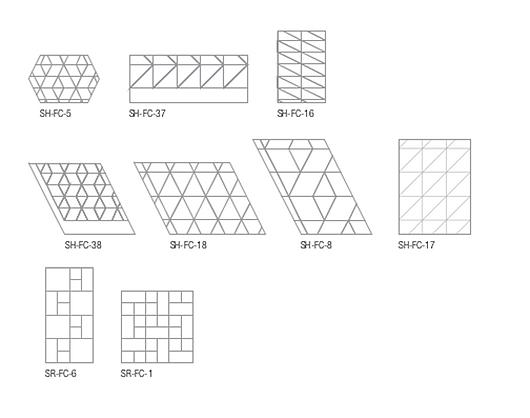 Formatos | Nuvem Acústica DESIGNFlex® para Formations ® | Armstrong Ceilings