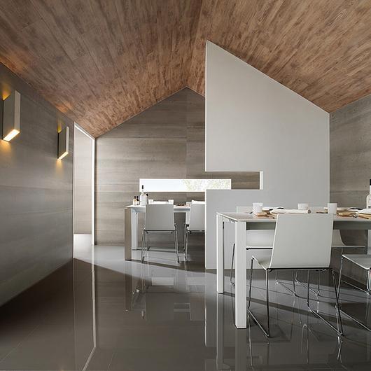 Porcelanato de gran formato XLight 3,5mm - Concrete / Porcelanosa Grupo