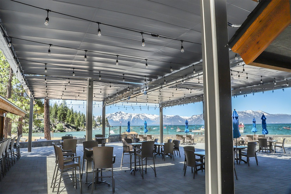 Retractable Canopies - Round Hill Pines Resort