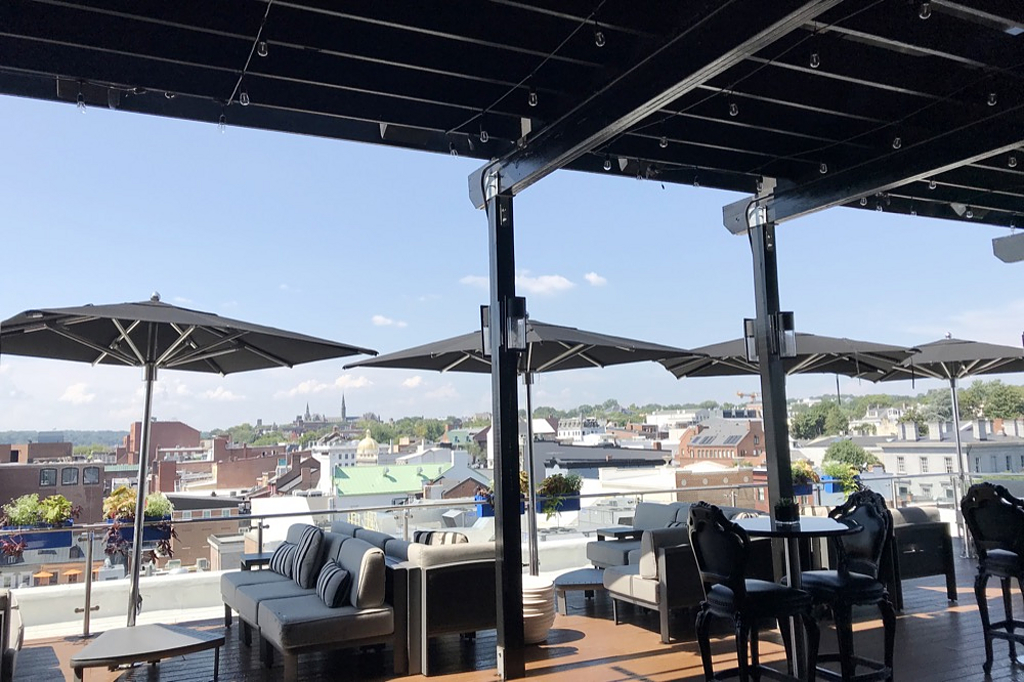 Retractable Outdoor Roofs - The Graham Rooftop