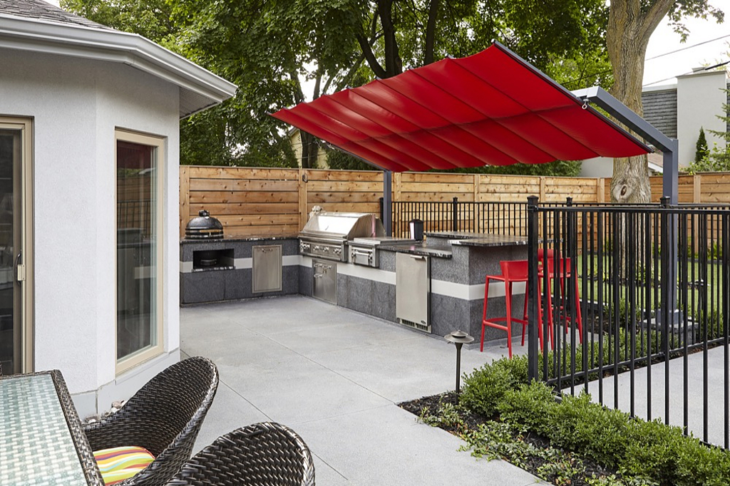 Shade Structure, Freestanding Canopy - North York