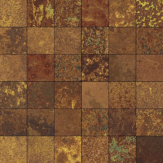 Corten Oxidum Mosaic 5x5