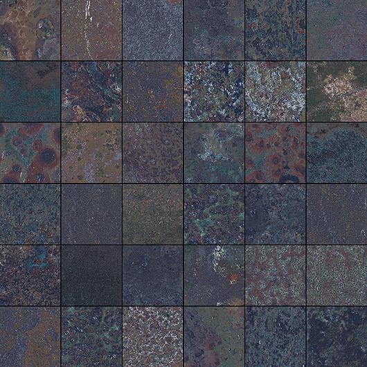 Corten Saphire Mosaic 5x5