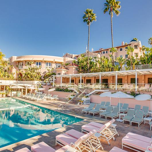 Retractable Canopies at The Beverly Hills Hotel