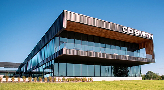 CD Smith Corporate Office Metal Façade