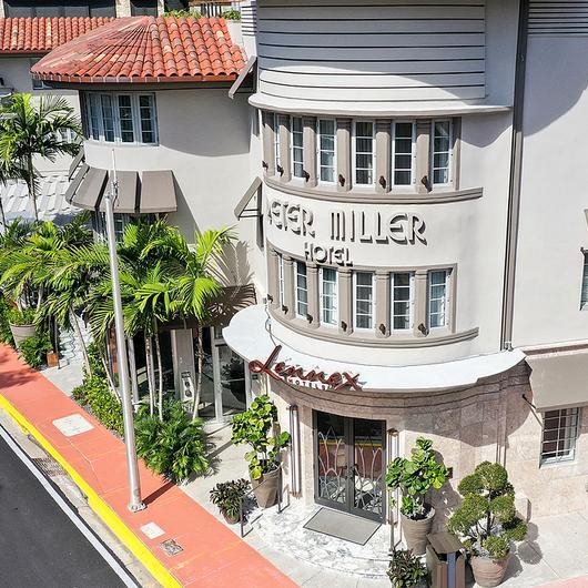 Retractable Canopies, Outdoor Roofs - Lennox Hotel Miami Beach