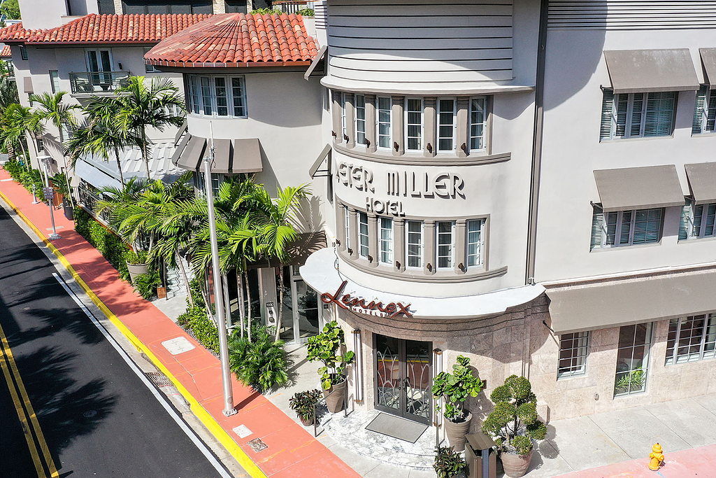 Retractable Canopies, Outdoor Roofs - Lennox Hotel Miami ...