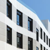 Ventilated Façade in Residential Complex