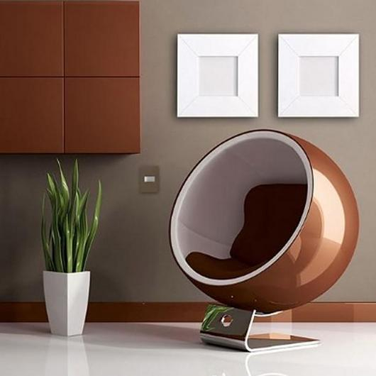 Placa 4x2 3P/ALU para interruptores e tomadas - Essence Planet Brown
