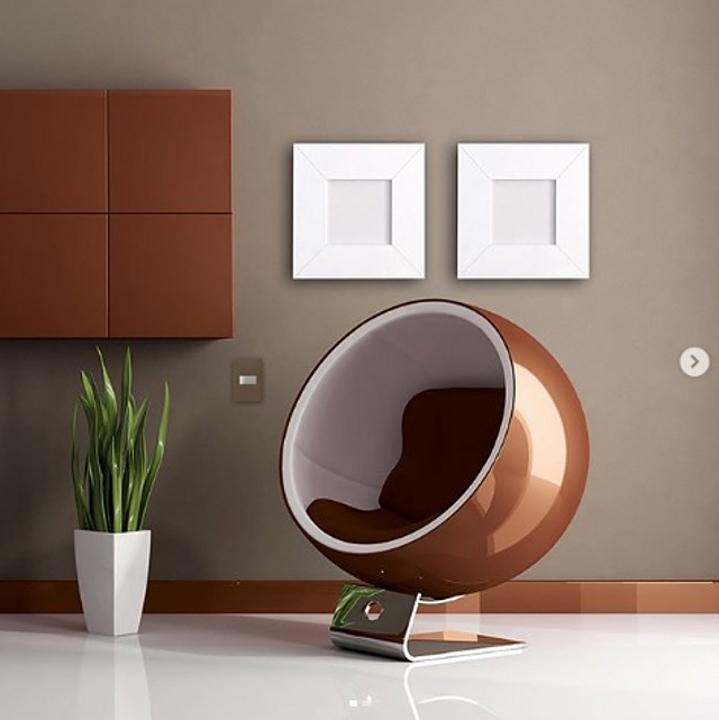 Placa 4x2 3P/ALU para interruptores e tomadas - Essence Planet Brown