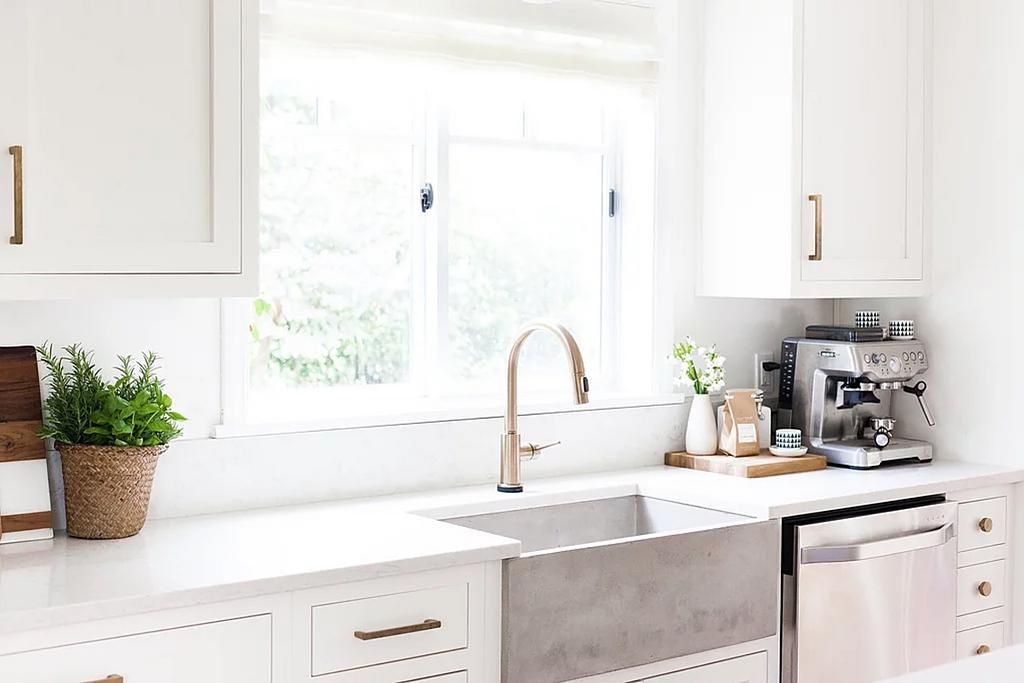 Silestone in Coconut + Kelley Kitchen