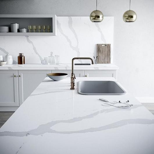 Silestone and Dekton in Nordic Style Kitchens