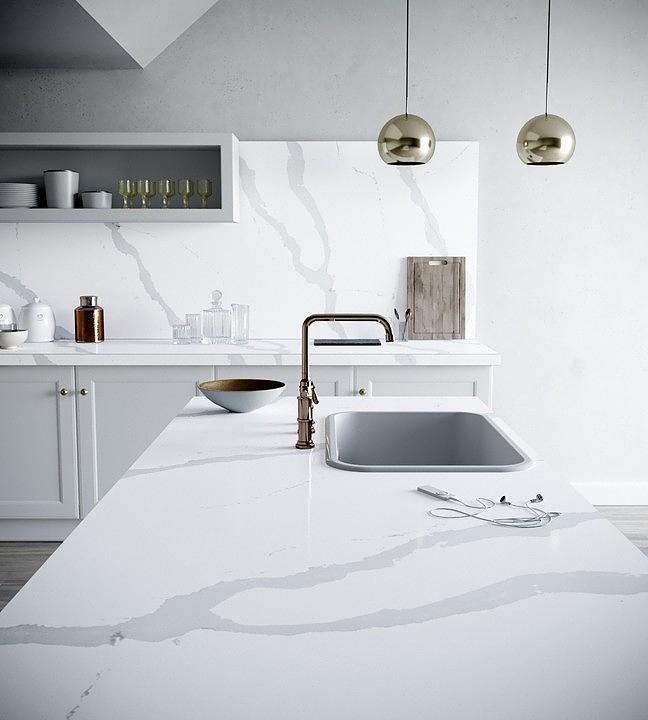 Silestone and Dekton in Nordic Style Kitchens