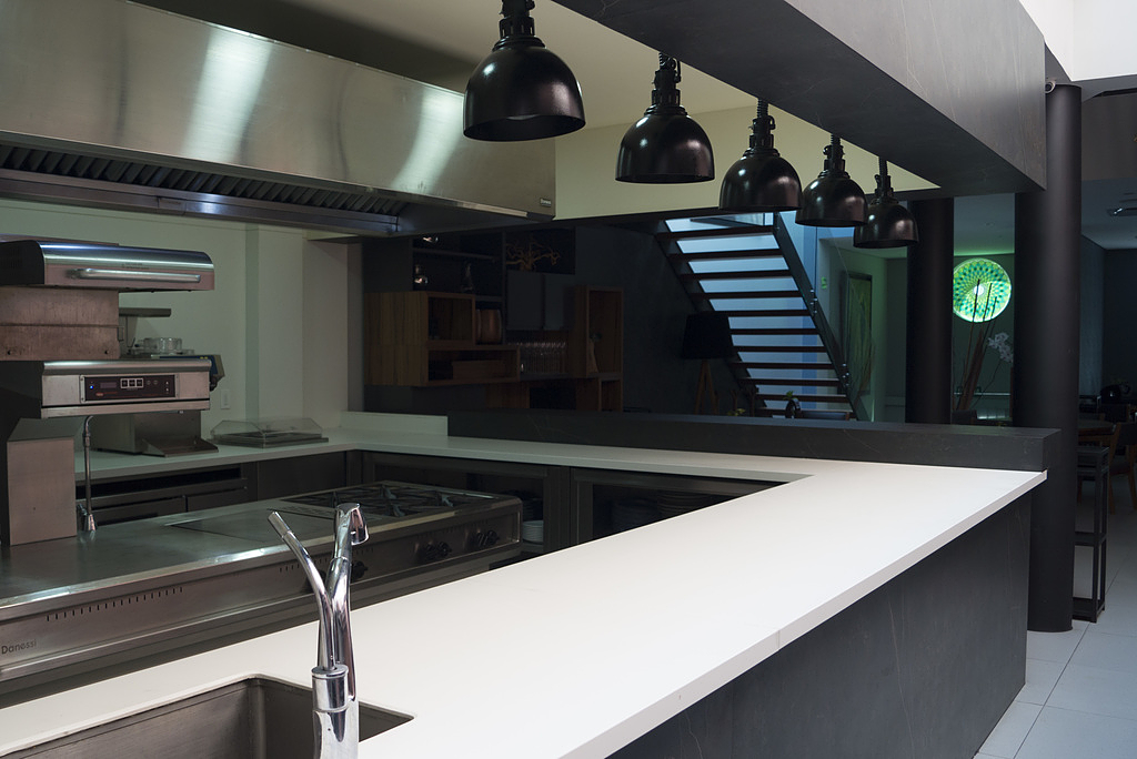 Silestone and Dekton in Lorea Restaurant