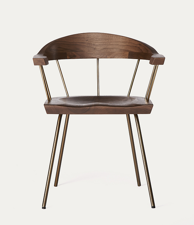 Spindle Chair and Stool