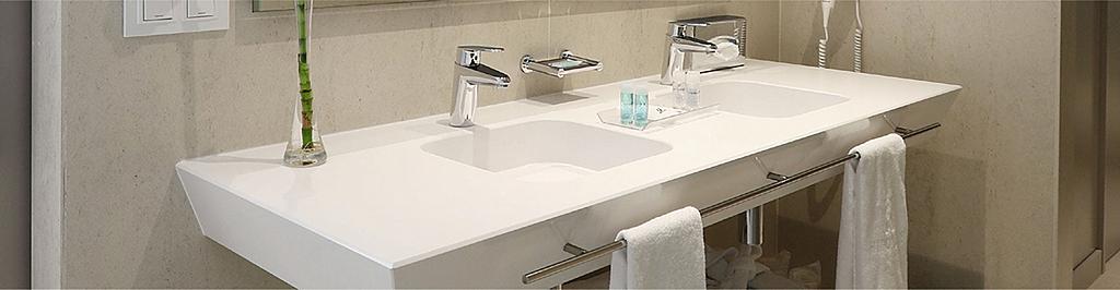 Lavatório para banheiros em Silestone® - Bath Collection Washbasins