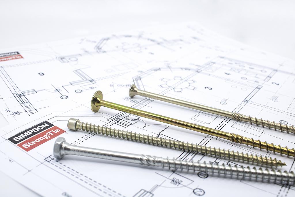 Fijaciones para estructuras de madera y metal