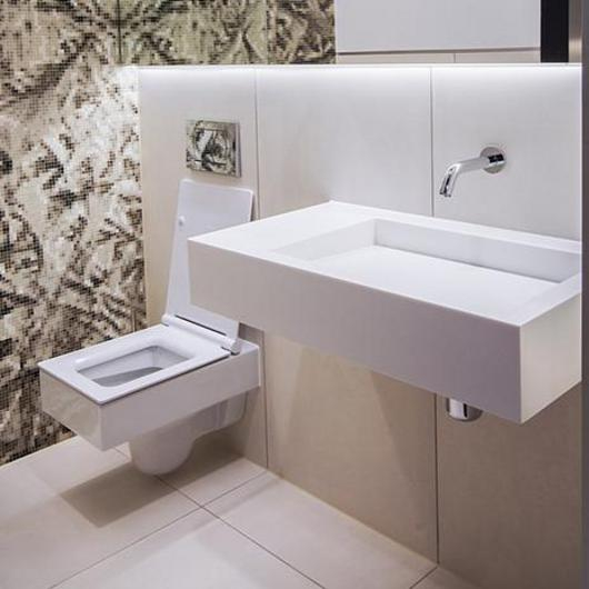 Monolith Basin in 24 Saville Row / The Splash Lab