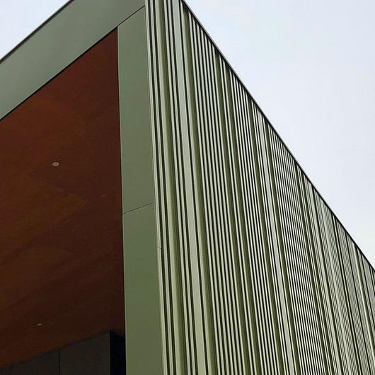 Metal Cladding in Thaden CP4 Building