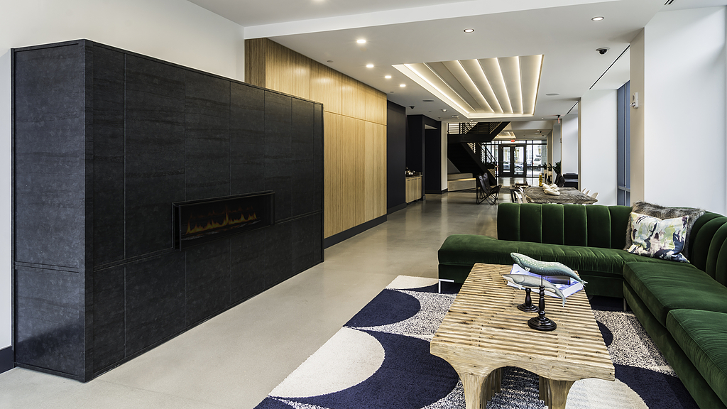 Interior Aluminum Cladding - Fireplace Wrapping