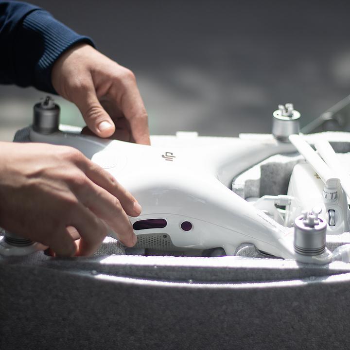 Exploración - fotografía y video con drone (RPAS)