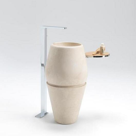 Lavamanos L'Antic Colonial - Menhir Stand / Porcelanosa Grupo