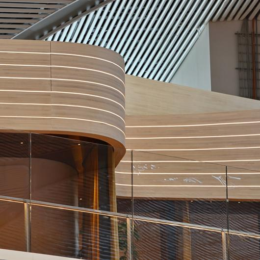 Timber Parametric Design in Istanbul Airport