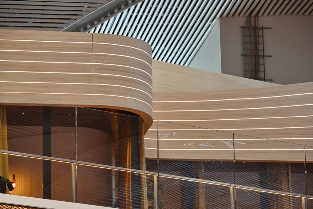 Timber Parametric Design in Istanbul Airport