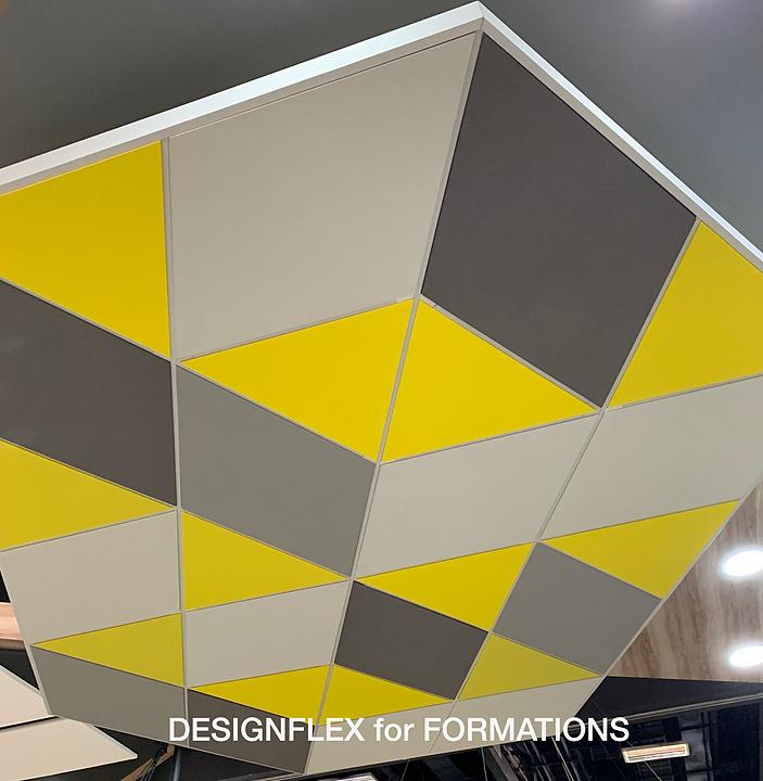 Produtos acústicos para Estrutura Exposta da Armstrong na Expo Revestir 2020