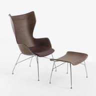 Wood Armchair - SmartWood K/Wood