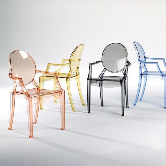 Polycarbonate Chair - Louis Ghost