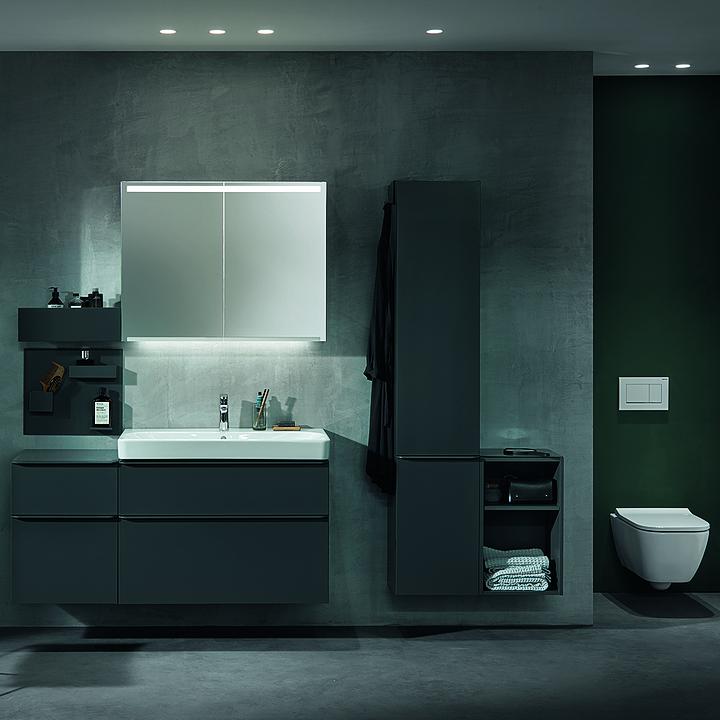 Illuminated Mirrors and Mirror Cabinets - Option
