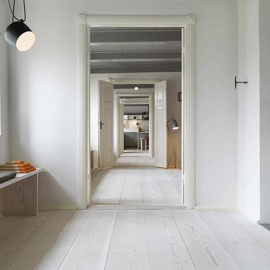 Natural Wood Flooring - Douglas Planks / Dinesen
