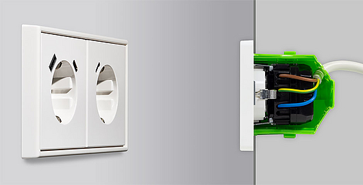SCHUKO® Sockets with Integrated USB