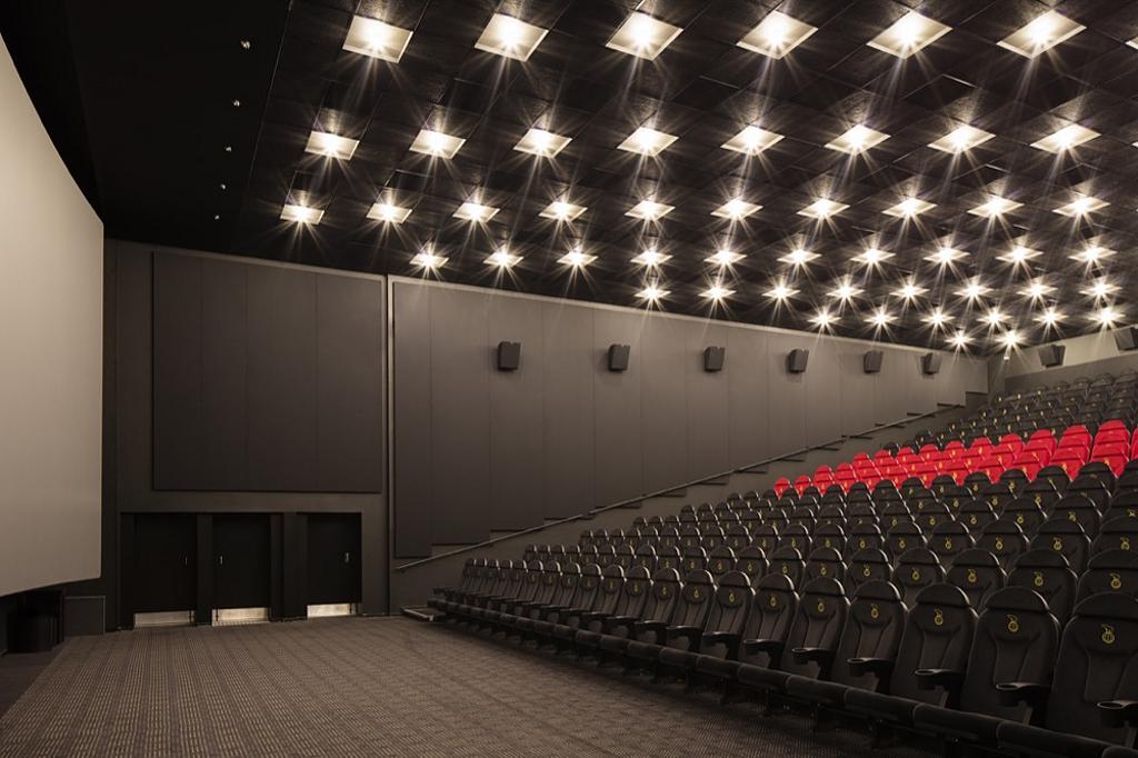 Acoustic Panel System in Nordisk Film Cinemas