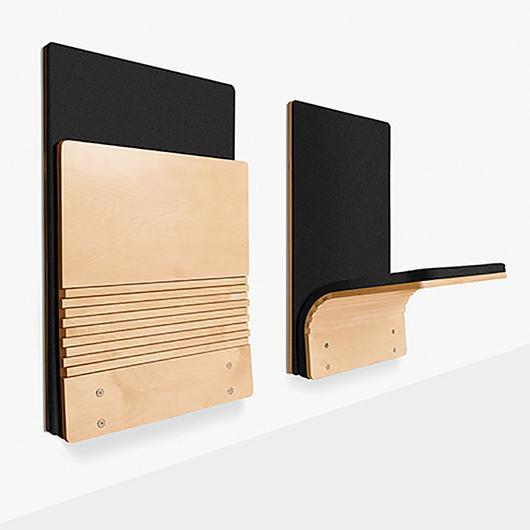 Wall-Mounted Folding Seat - JumpSeat® Wall
