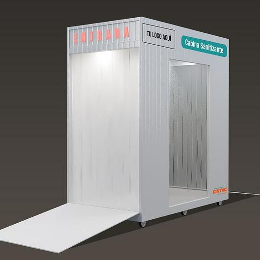 Cabina sanitizante con sensor de movimiento / Cintac®
