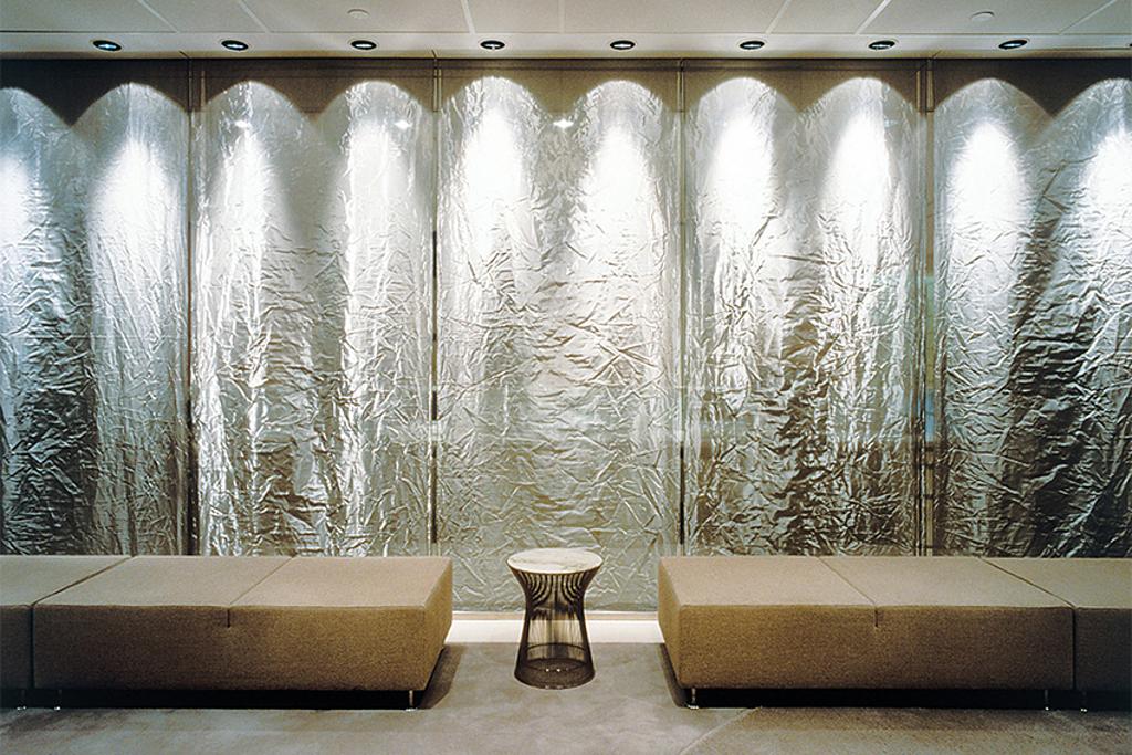 Interior Design with Wire Mesh