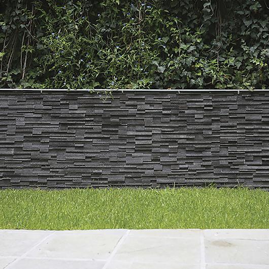 Revestimiento de piedra - Modelo Vulcano Grafito / Metaldesign