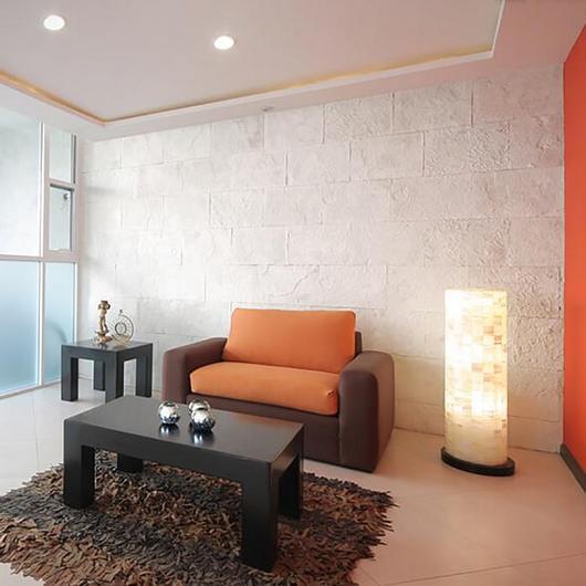 Revestimiento de piedra - Modelo Galarza 49 Blanco / Metaldesign