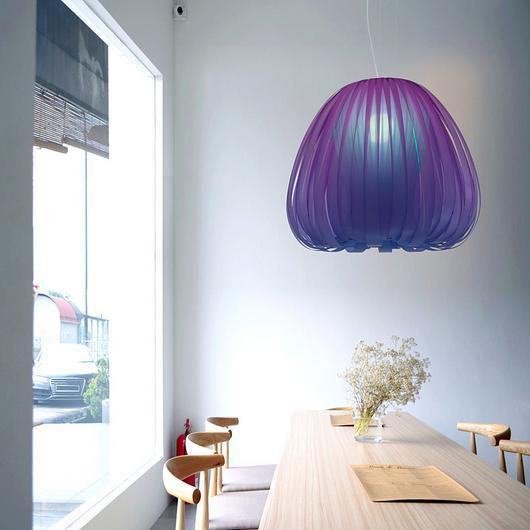 Hanging Lamps - (Indigo) Phantom / Yellow Goat Design