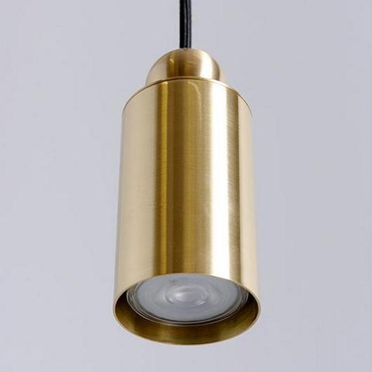 Lighting - Hanging Brass Hotel / Asaf Weinbroom