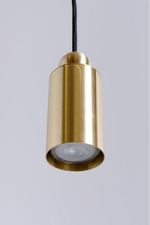 Lighting - Hanging Brass Hotel