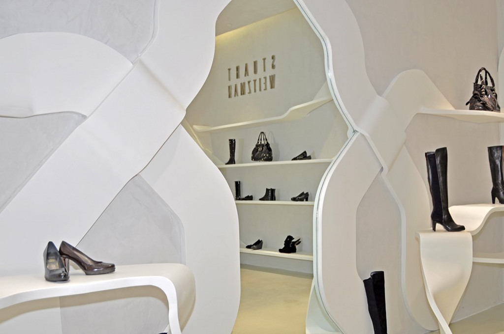 Solid Surfaces STARON® - Shopfitting