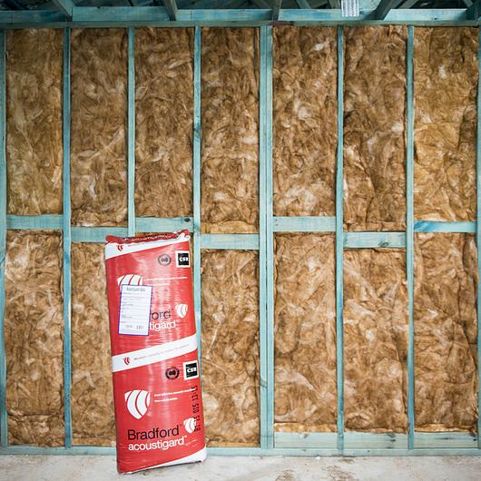 Acoustic Glasswool Insulation - Acoustigard / Bradford
