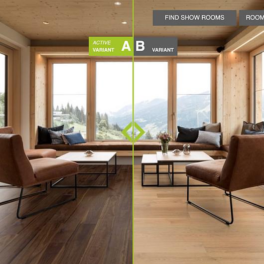 Wood Flooring Visualization Tool / Arrigoni Woods