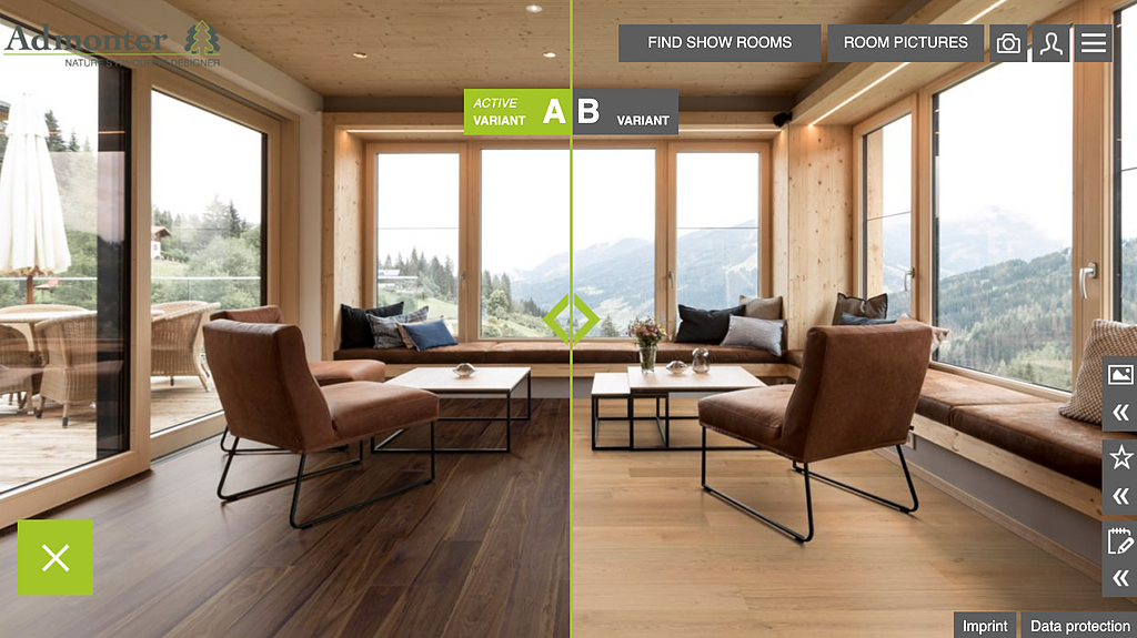 Wood Flooring Visualization Tool