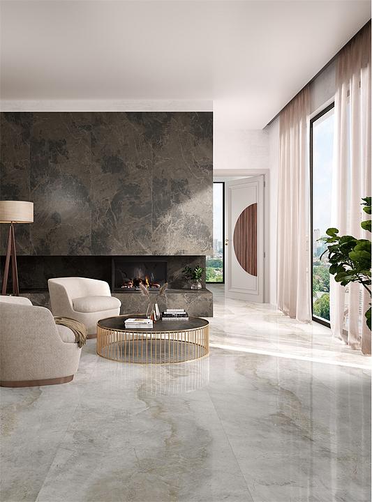 Porcelain Tiles - Kalesinterflex Marbles